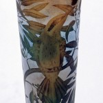 Beautiful bird - Glass art by Kevin Gordon