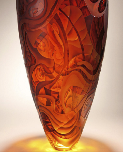 Glass art by Kevin Gordon