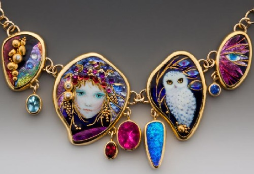 Handcrafted Enamel by Jewelry Artists Mona & Alex Szabados