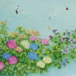Korean flower painter Sookja Rho