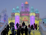 Harbin International Festival of ice sculpture