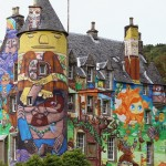 Kelburn Castle Graffiti