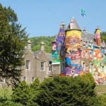 Built in the 13th century, Kelburn Castle