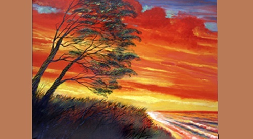Painting by American artist Ford Smith