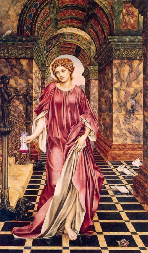 Anti-Victorian Pre-Raphaelitism. Medea by Evelyn De Morgan. 1850-1919, the Art Gallery and Museum of Williamson, Merseyside