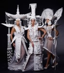 Paper fashion by Asya Kozina