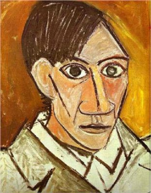 Marina Picasso sells art to let the past go. Self-Portrait - Pablo Picasso
