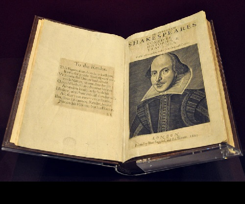 'First Folio: comedy, chronicles and tragedies', William Shakespeare. Cost $ 8.2 million. Purchase year 2001. 2014 Ten Most Expensive Books
