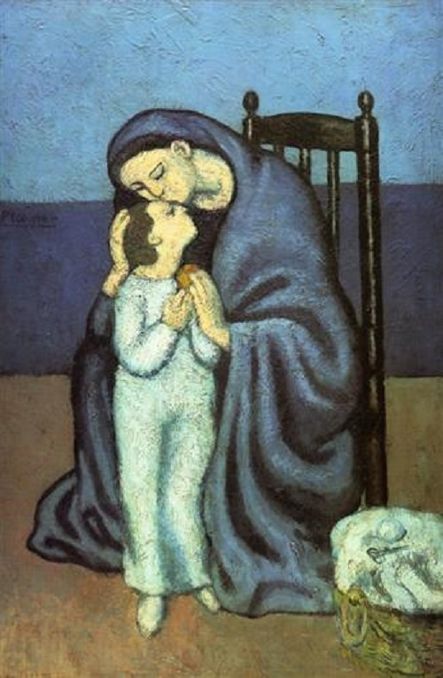 Marina Picasso sells art to let the past go. Motherhood, 1901