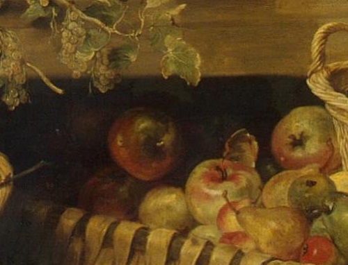 Renaissance still life code. Apple
