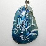 Handmade pendant by Russian artist of applied art Dreams Of Stone