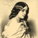 Dolores. Engraving from the series 'Women's images'. On the work by Lassalle, Emile