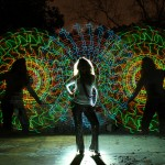 Verve. Light painting by Wes Whaley