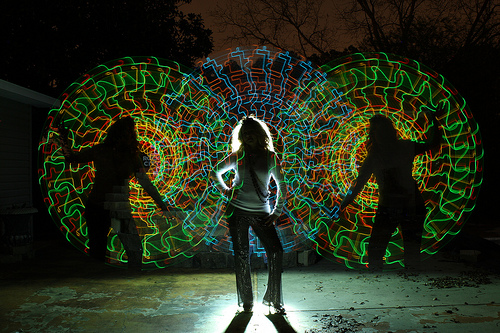 Light painting Whaley