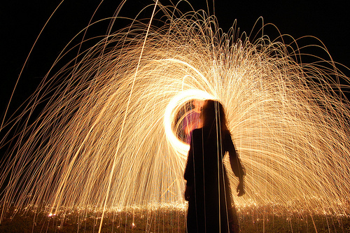 Light painting by Wes Whaley