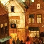 Pieter Bruegel (detail the upper left corner)