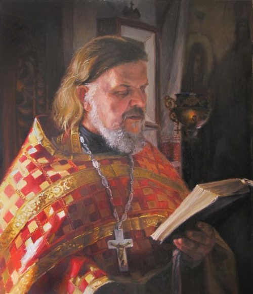 Portrait of the priest