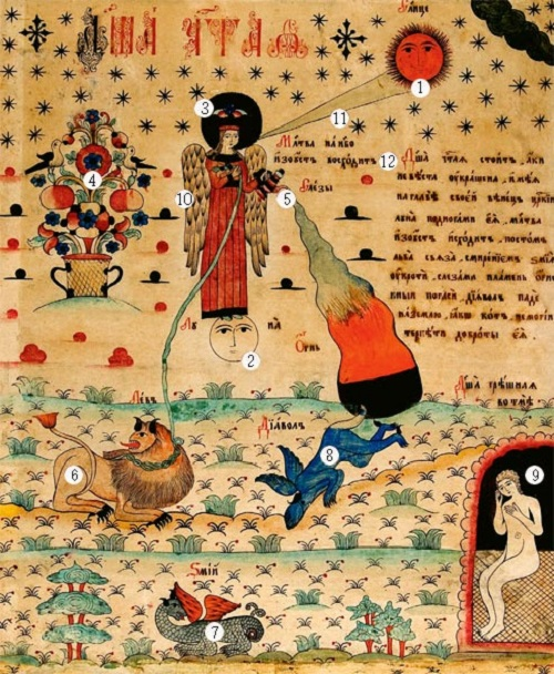 Pure Soul of Russian lubok