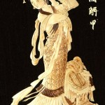 Straw painting by Chinese craftsmen