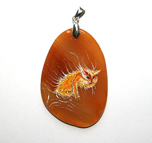 Sunny kitten. Dreams Of Stone pendants