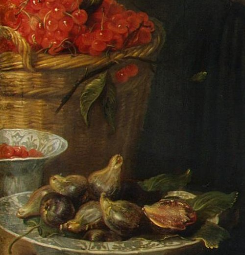 Renaissance still life code. The fig