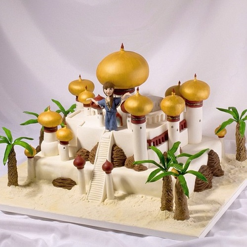 Arabian night cake. Artful Bakery cakes by Vladimir Sizov