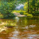 Painting by Dmitry Levin