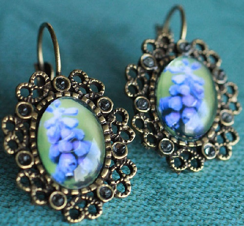 Earrings Muscari