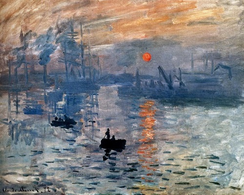 Why Claude Monet destroyed his paintings. Impression, Sunrise