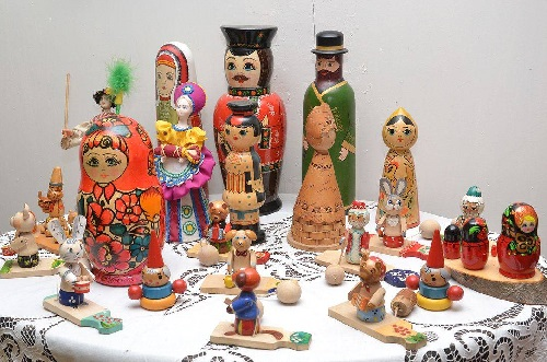 Museum of wooden toy. Chusovoi, Perm region