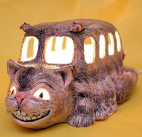 Night light 'Cat-bus'