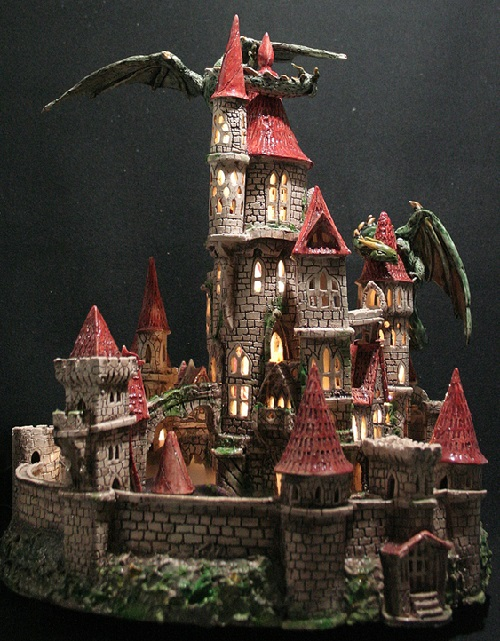 Night light castle 'Breath of dragon'