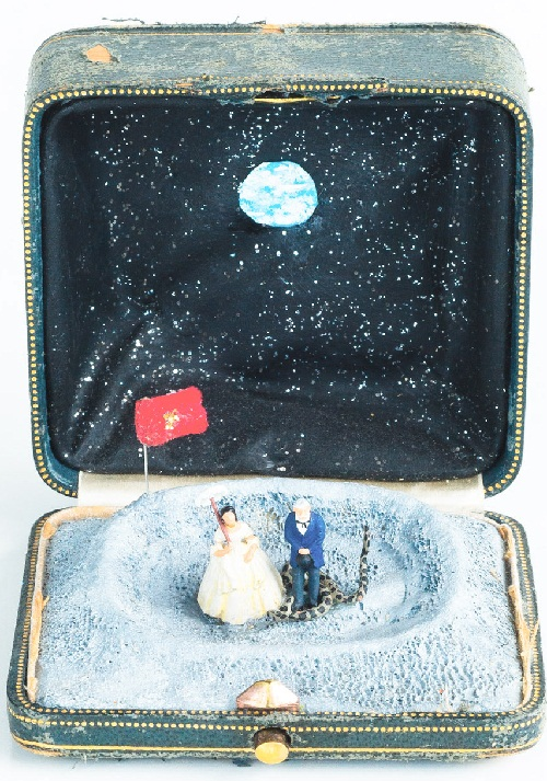 Miniature sculpture by Talwst