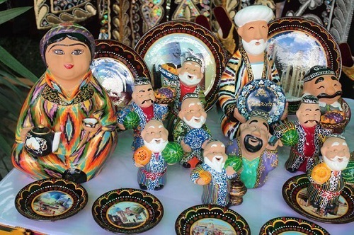 Uzbek ceramic art