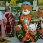Figurines of Uzbek ceramic art