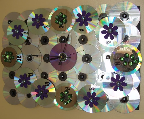 Wall clock of CDs