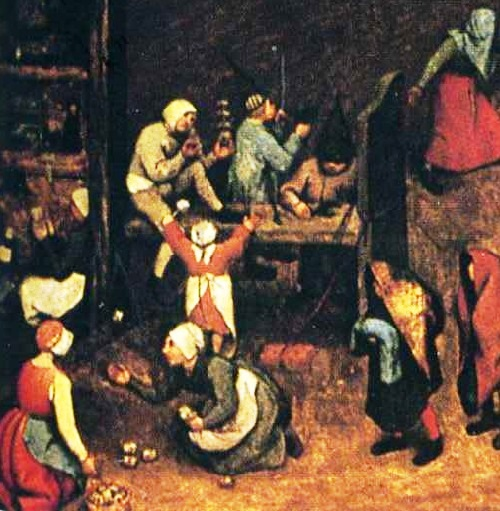 Children's Games by Bruegel. Details