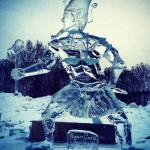 Actually, the first ice sculpture by Ryan Cook