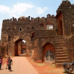 Old fortress in Bidar, India