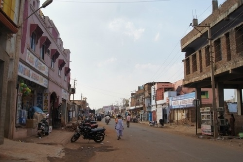 The city of Bidar, India