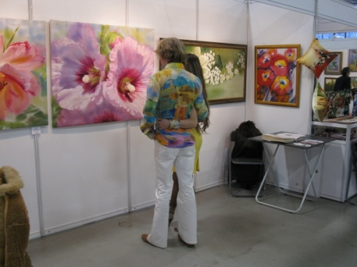 Exhibition of artworks by Elena Tener