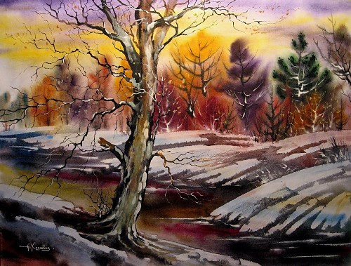 Late autumn Landscape