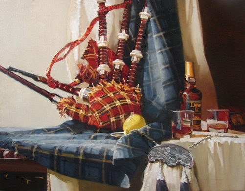 Scottish melody. Oil on canvas, 2011