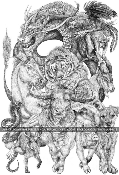 Animals of the Chinese Zodiac