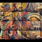Truly work of art, Ceramic tiles by Natalie Blake Studios