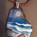 Listening to the sea, pendant