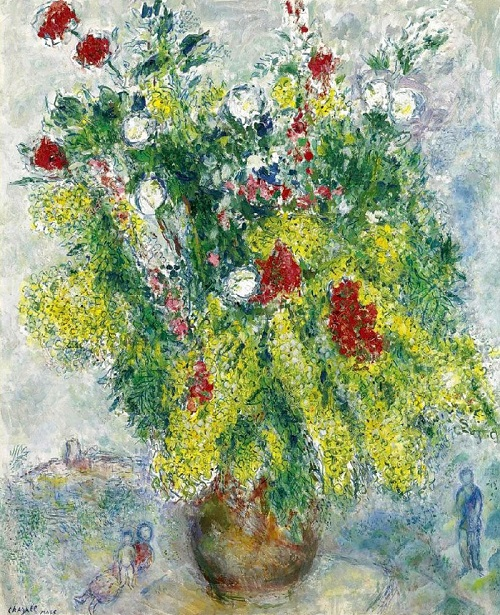 Mimosa in art. Marc Chagall