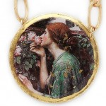 Painting Soul of Rose by artist John William Waterhouse