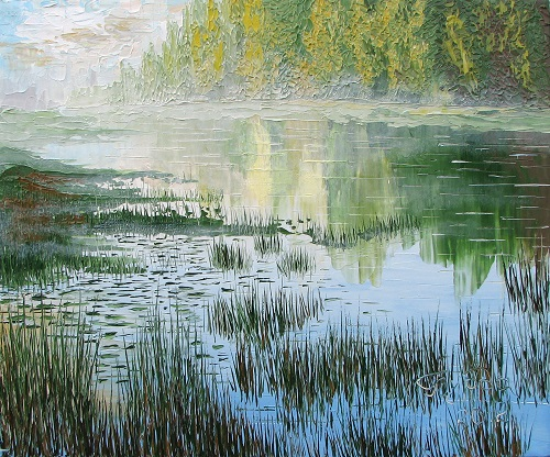 Mist, Oil on canvas, 2012