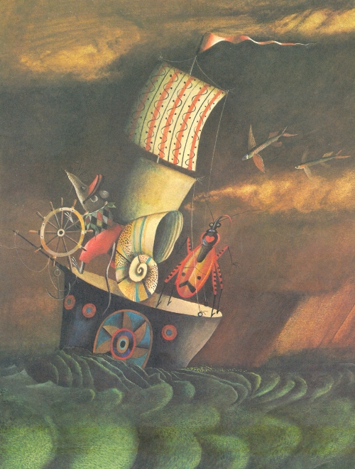 Journey by sea. 1982